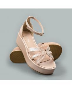 Sandale din piele naturala nude Joanne