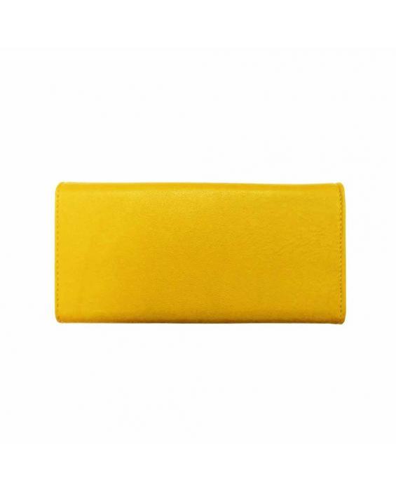 Portofel de culoare galbena Geanina