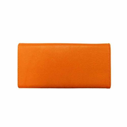 Portofel de culoare portocalie Geanina