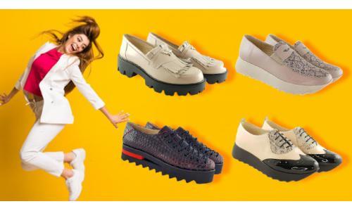 Modele de pantofi casual din piele naturala - moda in toamna 2020